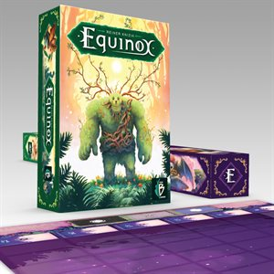 Equinox - version verte (ENSEMBLE en pré-commande)