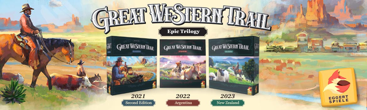 Great Western Trail Epic Trilogy